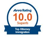 Avvo Rating 10.0 Top Attorney Immigration